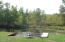 boat lift & dock area