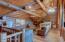Loft with sleeping area