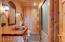 Bath with adjoining sauna