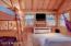 Interior of tree house