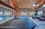 Dance studio in media center/guest quarters