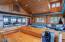 Bar area in dance studio