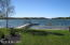 100 ft Portage Lake private waterfront dock