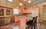 Cottage 4- Kitchen w/ one of a kind hutch