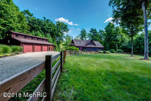 Home w/pond & stream on 40 wooded acres
