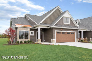West Wind Village - Laketown Township Unit #33 - Attached Duplex on Pond