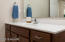 Stock photo- full bath will have a 60 inch single bowl vanity