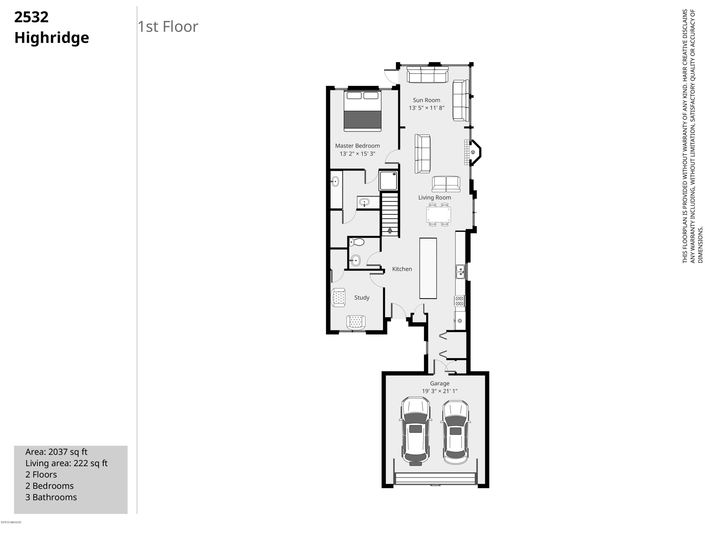 2532 Highridge-1st Floor