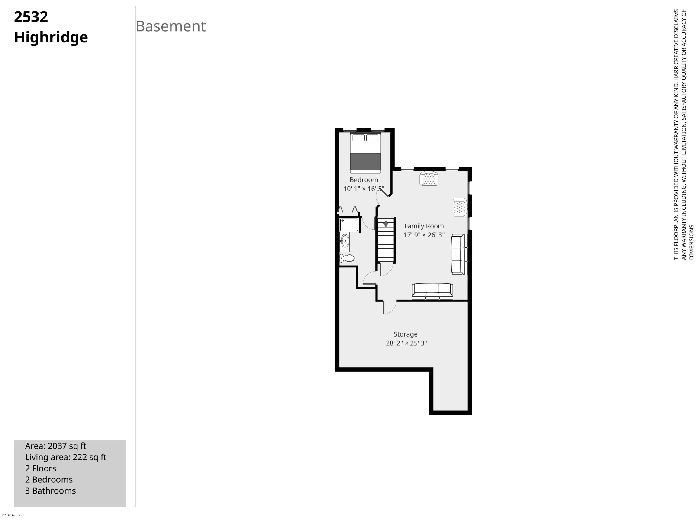 2532 Highridge-Basement