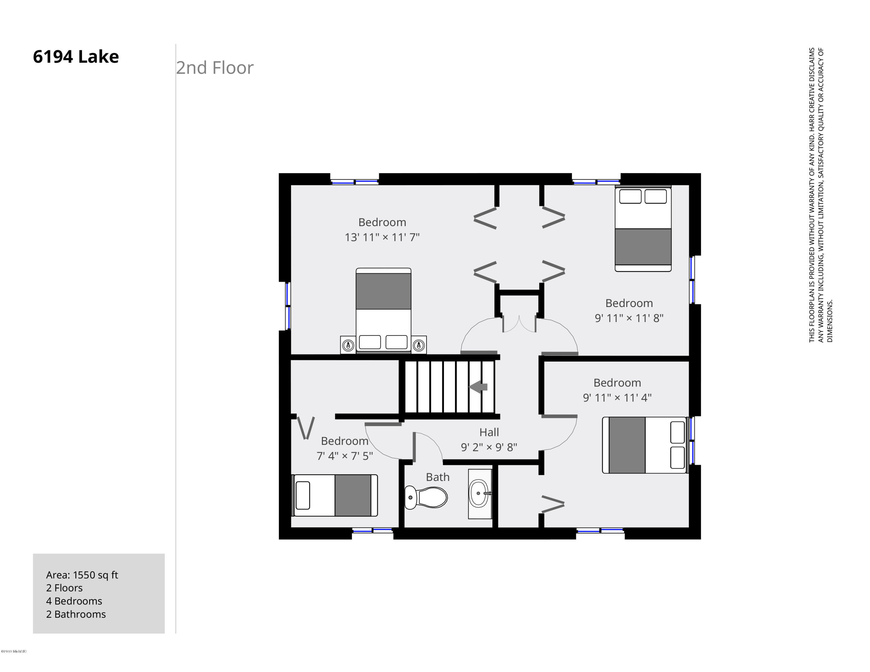 6194 Lake 2nd Floor