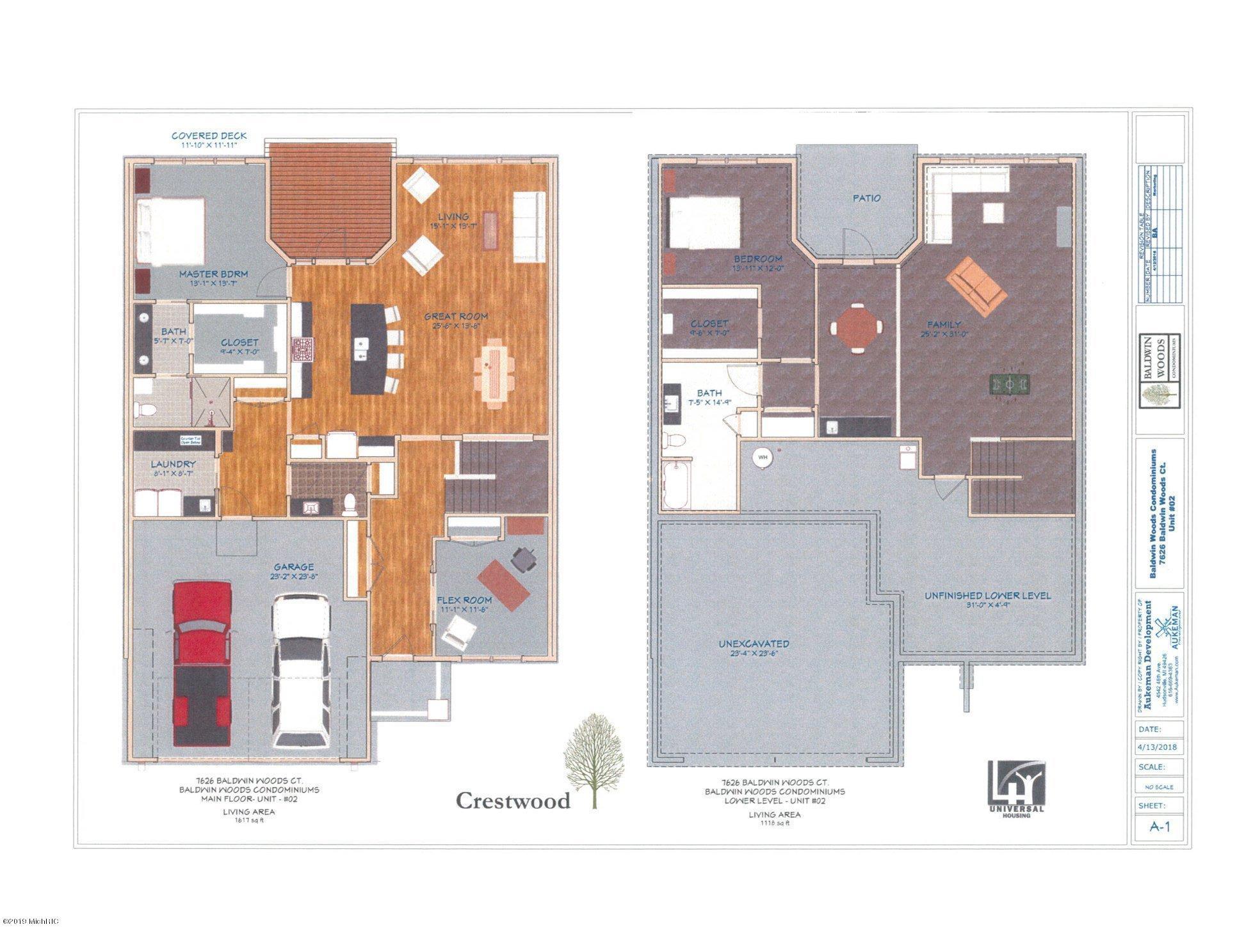 Floor Plan Crestwood