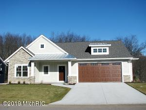 6415 Copperleafa Ct. Kingfisher floor plan with 2 stall Extended Garage