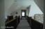vaulted ceilings upstairs too