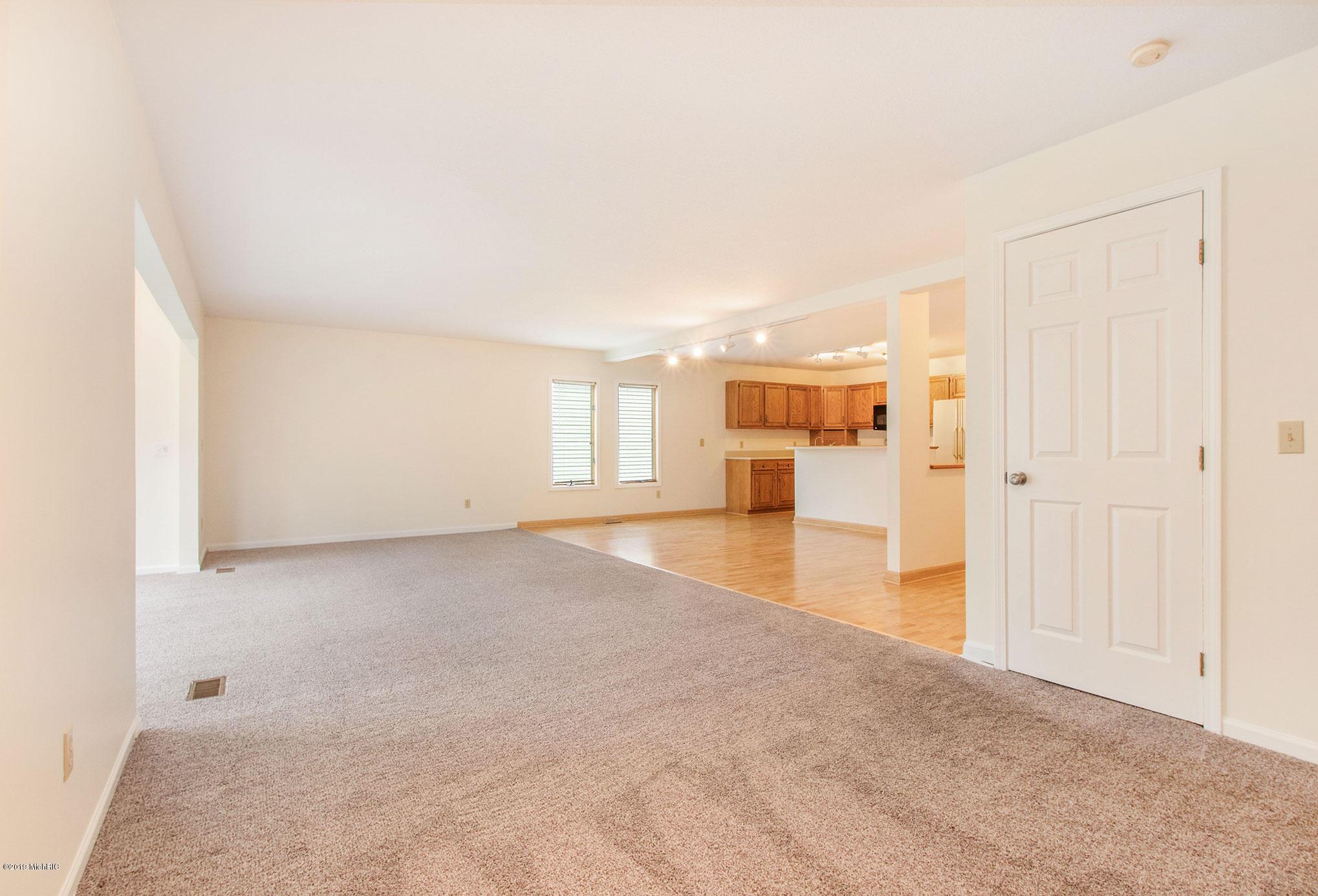 Huge living area on main floor