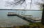 One of two boat docks.