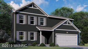 Stock Rendering – Rendering is not of actual home, but of home with similar floor plan. Colors, styles, finishes and elevation may vary. Home under construction will be complete Fall 2019.