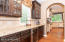 butlers pantry with wine refrigerator