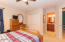 upper level family bedroom with private bathroom