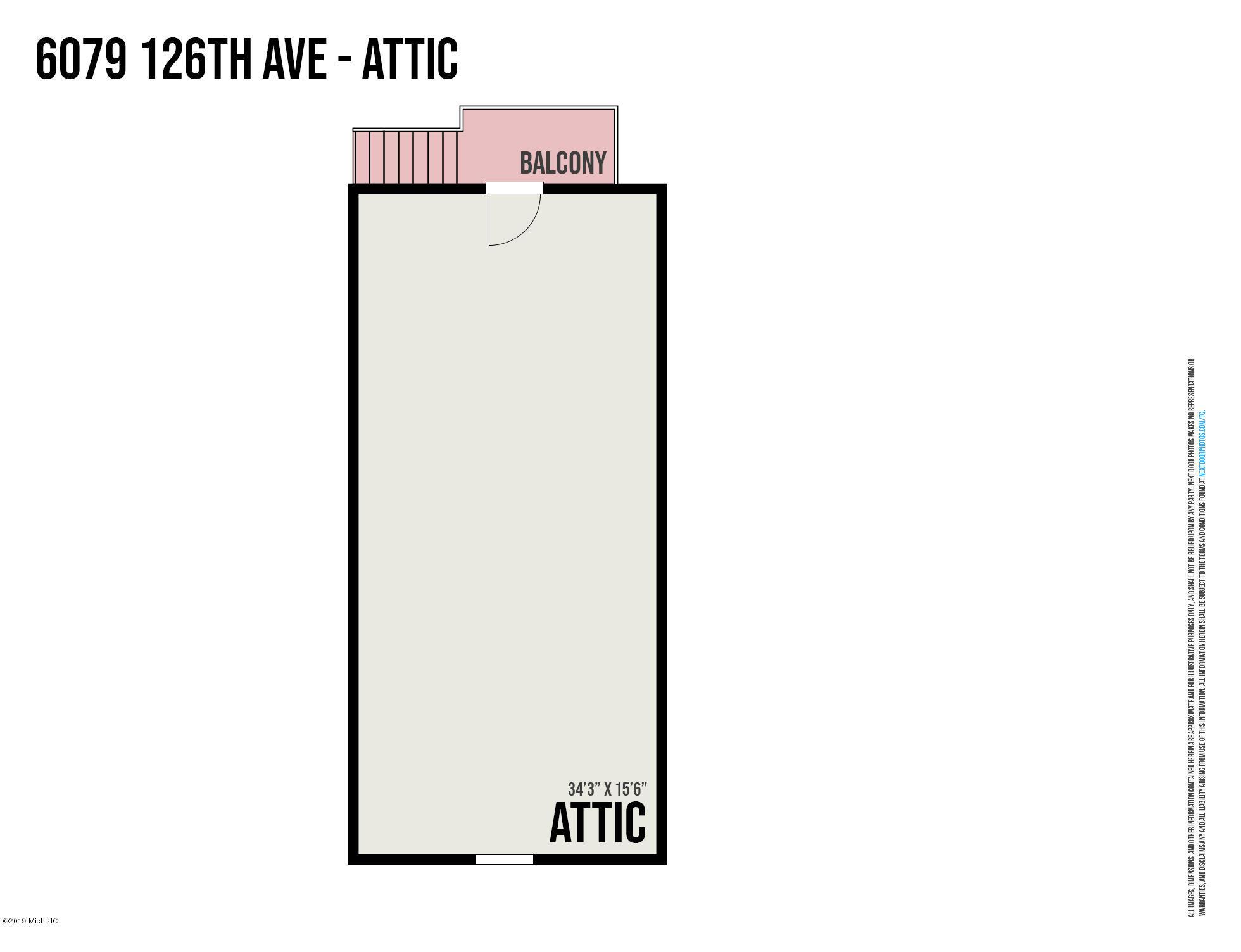 6079 126th Ave Floor Plan Garage Upper L