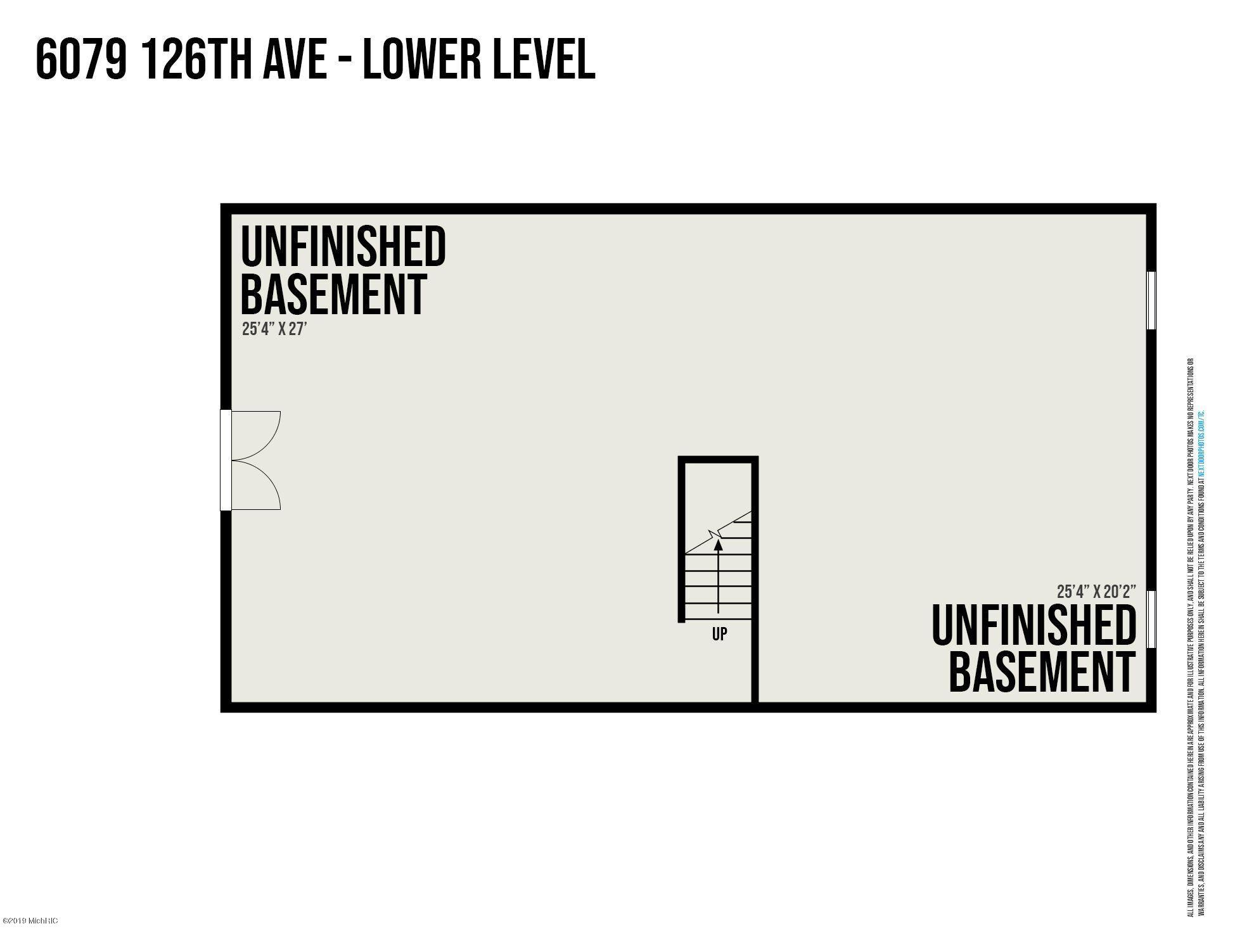 6079 126th Ave Floor Plan House Lower Le
