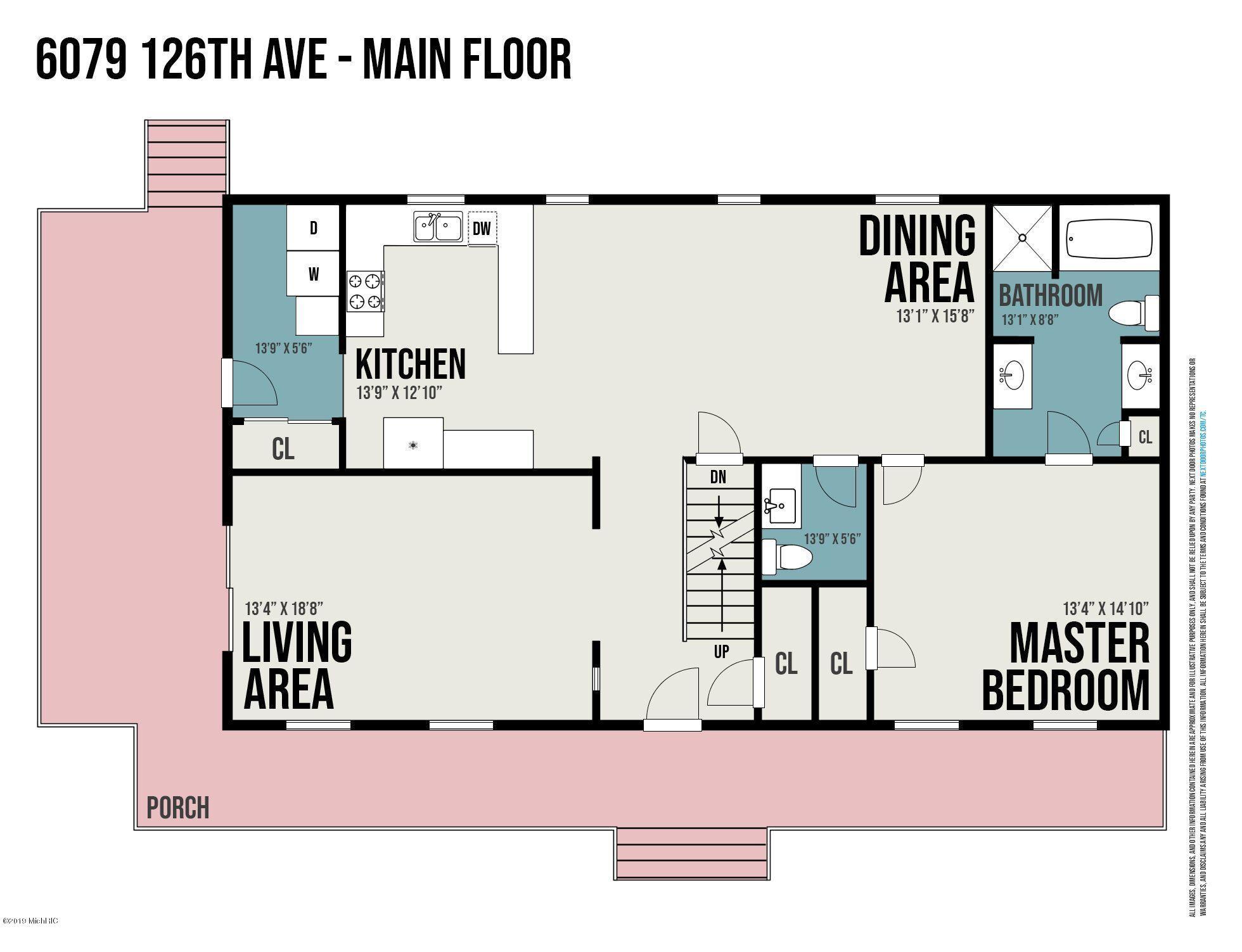 6079 126th Ave Floor Plan House Main Lev