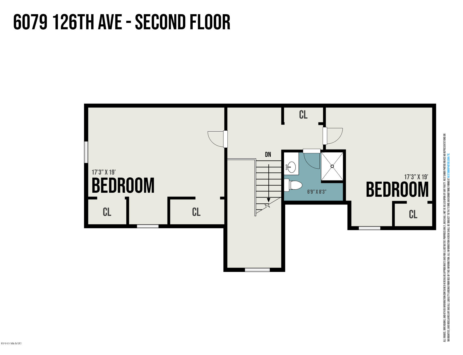 6079 126th Ave Floor Plan House Second L