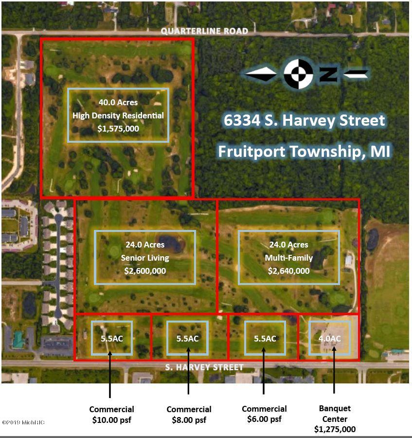 Property for sale at 6334-1 S Harvey Street, Fruitport,  Michigan 49415