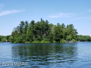 6104 N Island #1 Big Bass Lake, Irons, MI 49644
