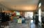 Main Level Kitchen and Dining Area to Deck Sliders
