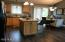 Main Level Kitchen with Central Island