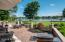 An expansive 1700sf brick paver terrace is ideal for entertaining, relaxing and sunning. An extensive 2019 renovation added much needed limestone pier caps and wall caps and repaired or replaced all flats surfaces and walls.