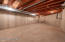 Basement is replete with opportunity. Envision this space as an exercise room, wine cellar, hobby room or simply additional storage space.