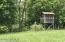 Multiple hunting blinds are available on the property. Not just for hunting, they're great for children's play or for airsoft and paintball.
