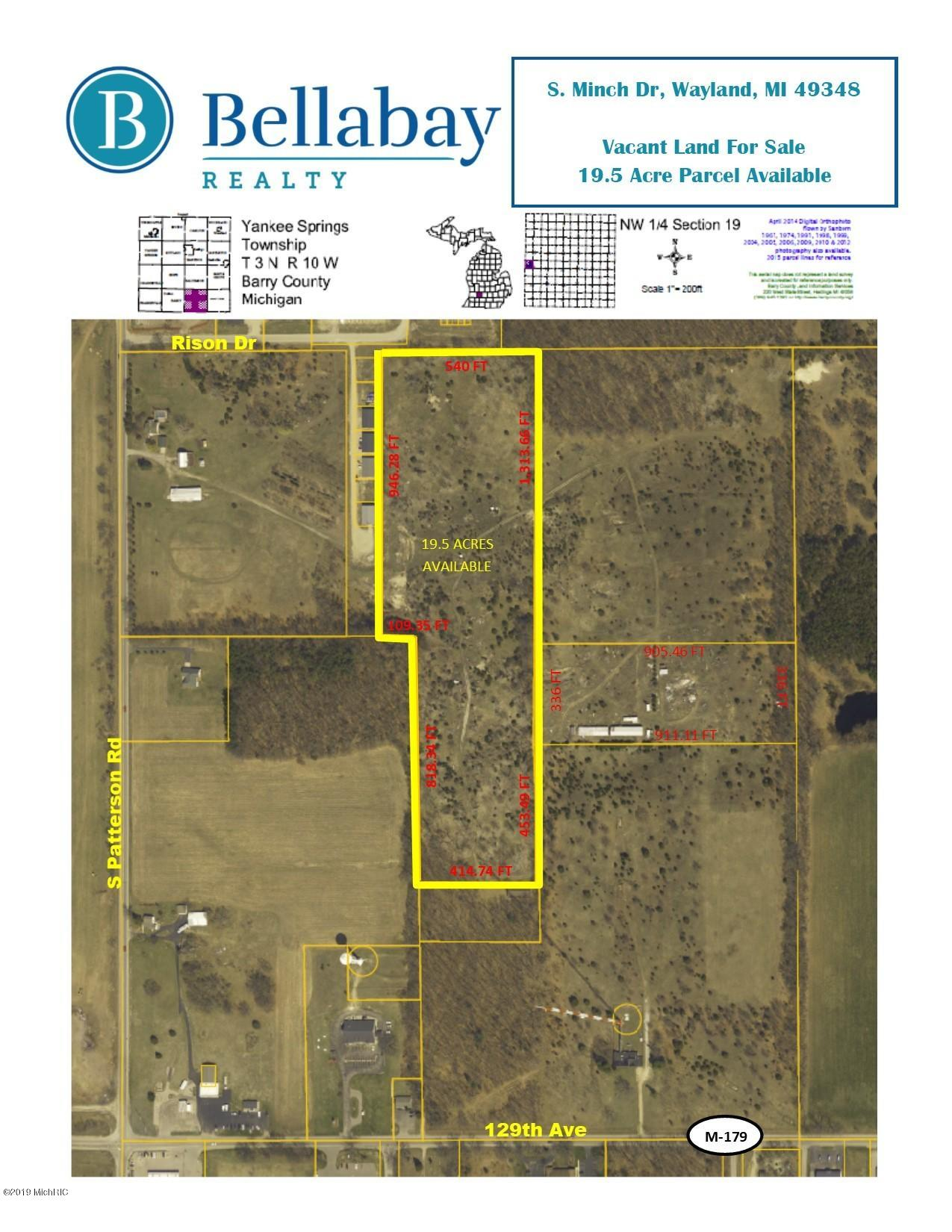 Property for sale at Minch Drive, Wayland,  Michigan 49348