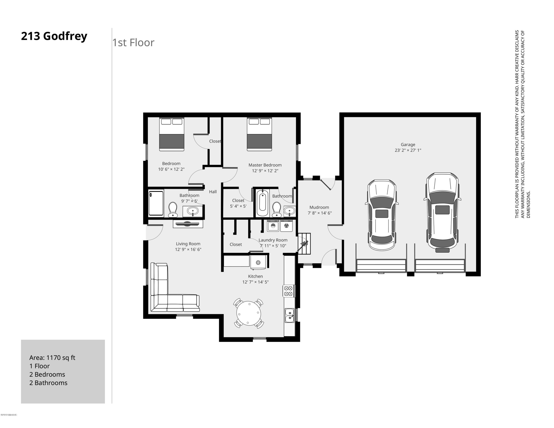 213 Godfrey 1st Floor