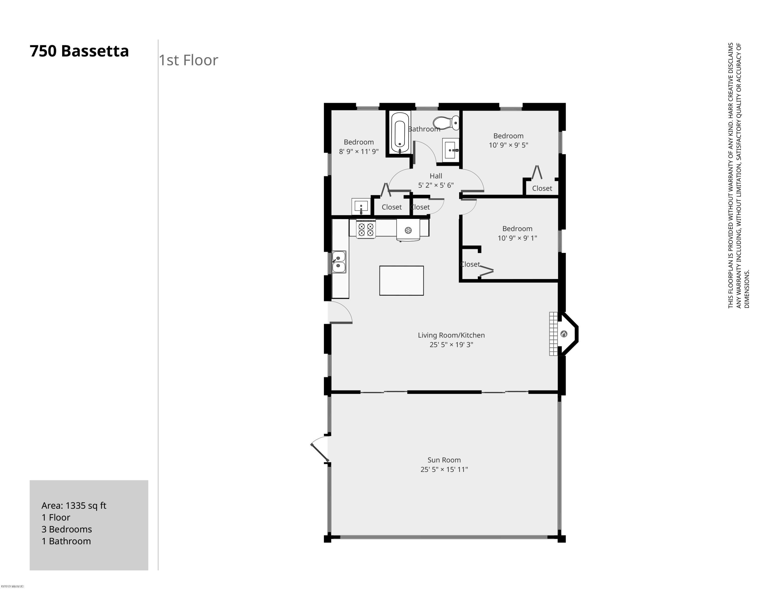 750 Bassetta 1st Floor