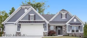 This 2019 Fall Parade of Homes entry is the Camden Floor Plan by JTB Homes.  Main floor living at it's finest boasting two main floor beds & full baths, main floor laundry, great room with fireplace and 4 season bonus room. The gourmet cook will love the double oven set up and generous designer level solid surface countertops that grace this kitchen. There is room to spread out in the lower level which includes a family room, bathroom, bedroom and room to finish a 4th bedroom.   Aging in Place features include zero step entry at both the front door and garage, wider hallways and doorways, a curb-less shower with grab bars, comfort height toilets and rocker switches.  Don't forget to check out this ultra private 200' deep lot with nothing but woods and wildlife out your back door.