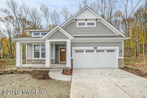 CVMT82116:Complete and immediate occupancy:  Eastbrook Homes Popular Stand-Alone Villa Aspen floor plan in highly sought-after Cherry Valley Meadow's Condominium Subdivision.  Large open floor plan with main floor ''flex room'', laundry and main floor owner's suite. Kitchen will be equipped with granite countertops and large center island.  From there you will be led to the oversized living room with center stone fireplace.  Enjoy coffee, reading, and wooded views from your 12x12 MI room.  Owner's suite will have large tile shower, double bowl vanity, and huge walk in closet.  Finished basement offers HUGE rec-room, additional bed room, and full bath.    Come quick before its gone! This is our last phase with only 11 total units to purchase or build on!