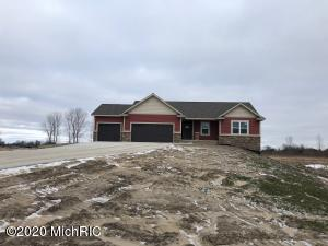 Marketing Remarks: New construction home in Blendon Township by Tim Bouma Builders. This home sits on 2.5 acres with plenty of privacy & country views. Main floor features an open floor plan with fireplace, large kitchen with solid surface countertops & walk-in pantry, 3 bedrooms & 2 1/2 baths. Enjoy sitting on your generous sized deck, screened in porch. This generous size three stall garage has plenty of space for storage. You will not be disappointed in the quality of this home. This home is currently in the trimming phase & is not far from completion. Call today for your private showing!Agent Only Remarks: