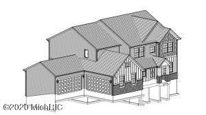 Cad drawing of actual home under construction, to be complete summer 2020.