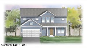 JTB Homes presents the ''Redwood: floor plan.. Features a large living room with stone fireplace, dining area leading to the deck,  and kitchen with solid surfaces, center island, walk-in pantry and stainless appliances. Mudroom includes a bench and cubbies and a huge walk-in closet. Off the foyer is the flex room with beautiful French doors. Upstairs is the Master suite, 3 additional bedrooms, another full bathroom, and laundry room. Three stall garage.