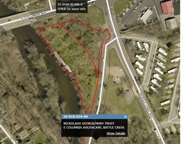 Property for sale at V/L E Columbia Avenue, Battle Creek,  Michigan 49015
