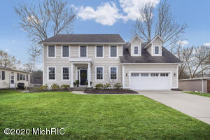 Gorgeous 2004 construction EGR home on a fabulous deep lot in a great location along a green, tree-lined, median-divided, desirable street. This home has been meticulously maintained and intelligently updated to provide the ultimate living experience. Upon entering the home, you're greeted by formal living and dining spaces, as well as an additional living space off the gorgeous and well-appointed eat-in kitchen. 4 generously sized bdrms upstairs, including master retreat with impressive ensuite bath. Large bonus room over the garage could be a 5th bdrm or any number of possibilities. The basement is ready to finish with a roughed-in bath. Large deck off rear of the home checks the final box to make this an entertainer's paradise.