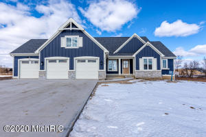 Absolutely awesome floor plan, open, spacious with the quality and detail you expect to see in a Schultz Builders home.  This walkout Ranch is loaded with many extras, built-ins, trey ceilings, center island, walk in pantry, 9' walls in basement 9' & 10' ceilings on main floor.  Kitchen features a large center island, walk in pantry, solid surfaces. Mud room area off the kitchen with laundry room and half bath.  Private master suite boasts of a large walk in closet, tile shower, double sinks. Front room den/office just off entry and living area. Lower level will not disappoint with amount of additional space to congregate in family and game room area, future gaming area, kitchenette/wet bar with center island and optional wine cellar. Home is ready to move in and make your own. Quality and detail in this New Home. This walkout Ranch is loaded with many extras with an open concept on the main floor living space for gathering family and friends.  Kitchen features a large center island, walk in pantry, solid surfaces. Mud room area off the kitchen with laundry room and half bath.  Private master suite boasts of a large walk in closet, tile shower, his and her sinks.   Front room den/office just off entry and living area. Lower level will not disappoint with amount of additional space to congregate in family room, gaming area, kitchenette/wet bar with a  center island.  Optional 3 bedrooms/office or workout room, wine cellar and plenty of storage.   This well thought out floor plan bring purpose to every sqft.   Contact for more details as well as information on other subdivisions and floor plans available.