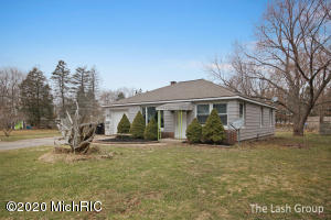 This beautiful 2 bedroom, 1 bath Ranch has been updated with new paint in all the rooms, new carpet, cabinets in kitchen have been repainted, treated the wood flooring in living room, new ceiling fans and light fixtures, new outlets and switches, new vent covers, and both the front and back doors have been painted with a fresh new color. Kenowa Hills School District! Come and see it today!