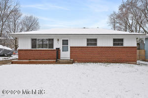 Great home with awesome potential.  This ranch  is conveniently located to Meijers, not far from downtown or the lakeshore.  Local restaurants just walking distance away.  Grandville school district.  Three bedrooms and full bathroom on main floor.  Wonderful opportunity to make this home your own.  Fenced in back yard with two sheds for storage.  Large storage shed has cable, phone line, and 220 electric.  NO  showings, until Stay at home order has been lifted.