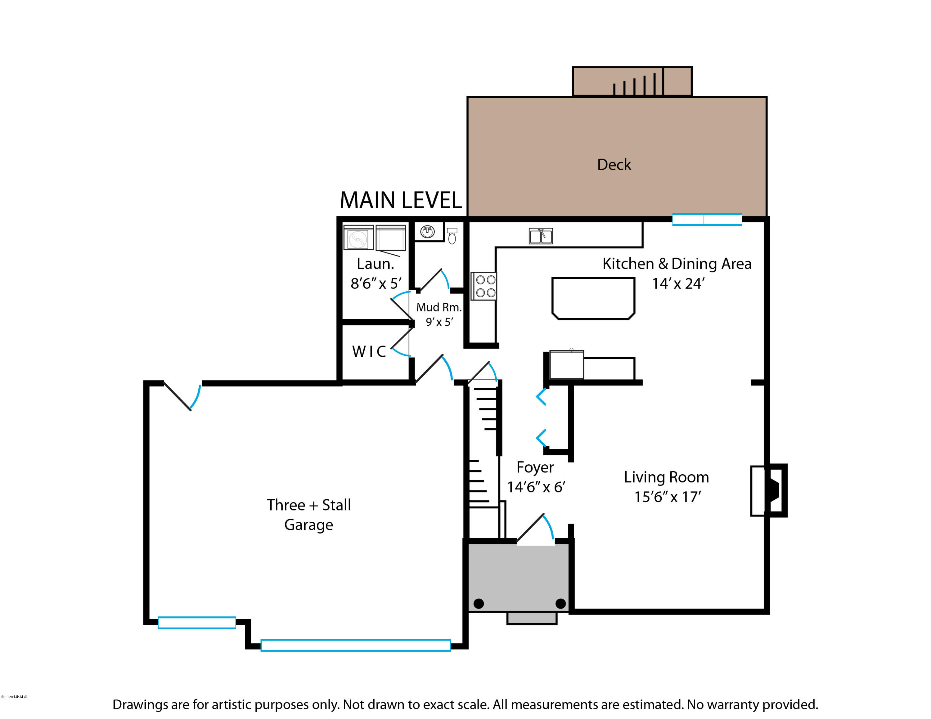 Floorplans Main Level 7050 Black Forest