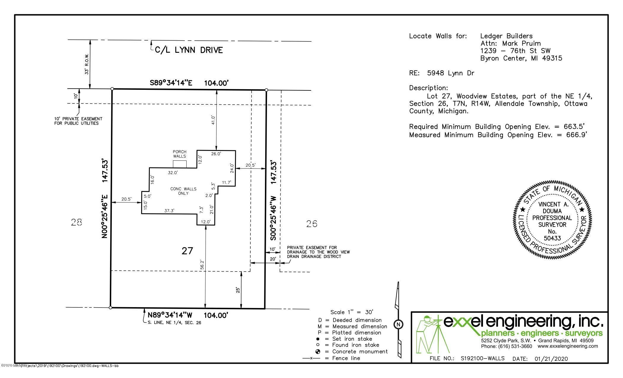 5948 Lynn site plan