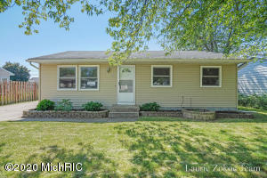 Welcome to this 4 bedroom 2 full bath home in the Grandville school district.  The main floor has a good sized kitchen with eat in dining, 3 bedrooms and beautiful bathroom, and a living room with hard wood floors. The lower level has a big bedroom and extra large bathroom, plenty of storage space and family room. This ranch home with an oversized 2 stall garage and large fenced in back yard with huge deck will not disappoint ! Highest and best due 6/24/20 at 4pm
