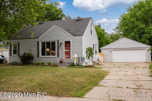 This move in ready starter home in Wyoming is the one you've been looking for!   You will fall in love with the updated kitchen, living room, and finished basement. You will also love the large fenced-in backyard, perfect for entertaining guests or enjoying a quiet evening at home.  Come see it today, because this one is priced to move and will not last long!